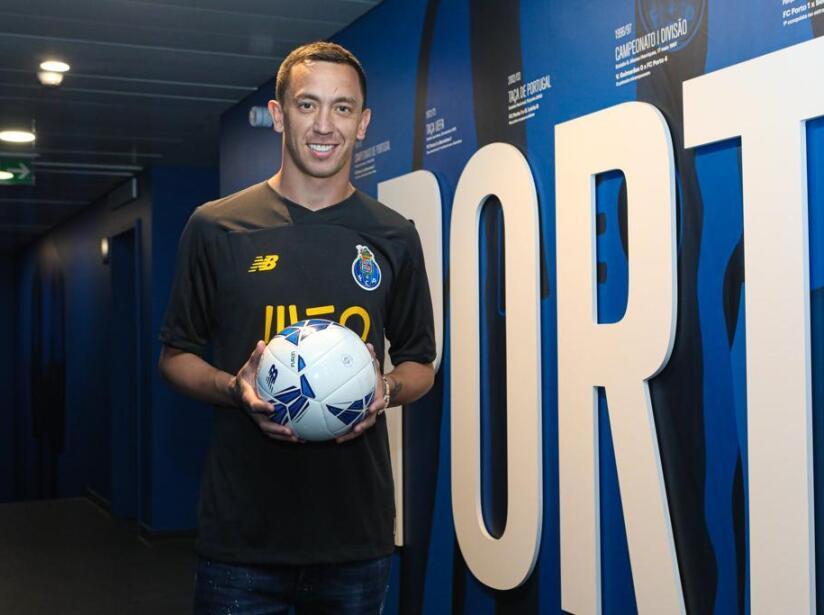 Agustín Marchesín fue presentado con el Porto