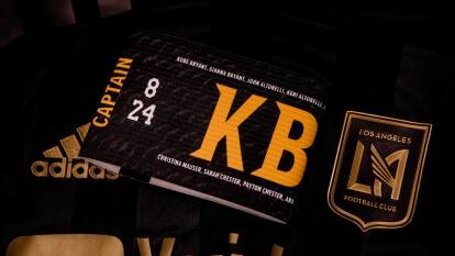 Banc of California Stadium recuerda con mucho afecto a Kobe Bryant