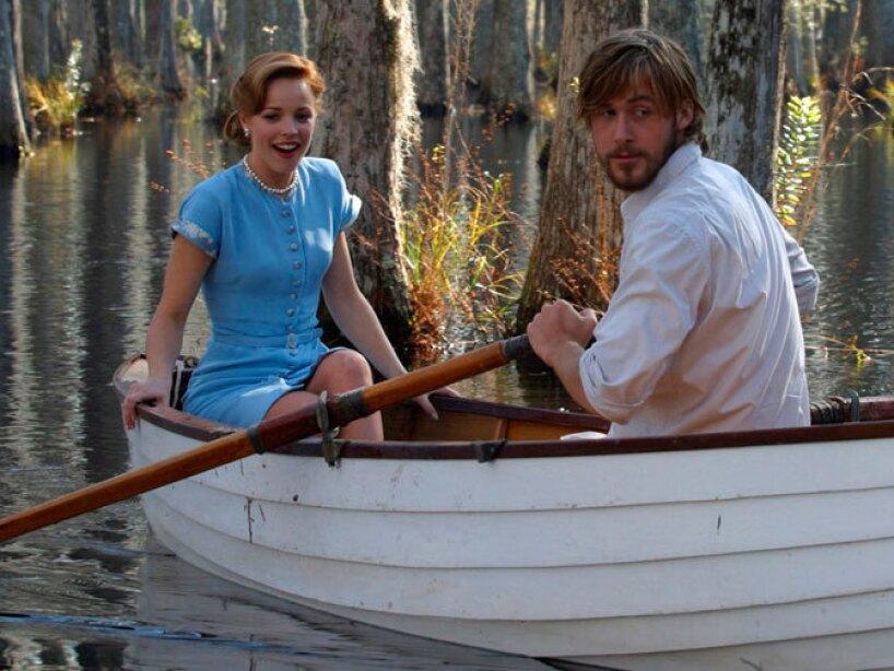 En Diario de una Pasión lo que menos existió entre Rachel McAdams y Ryan Gosling fue amor.