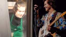 Harry Styles tiene un doble y trabaja en una cafetería