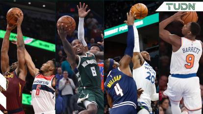 Estos son los resultados del fin de semana de la jornada tres de la NBA.