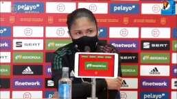 Para Mónica Vergara hay puntos a destacar en derrota del Tri