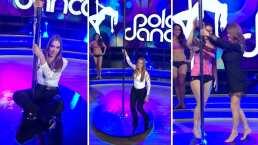 Reviven el momento en que Galilea Montijo y Andrea Legarreta demostraron sus habilidades en el pole dance