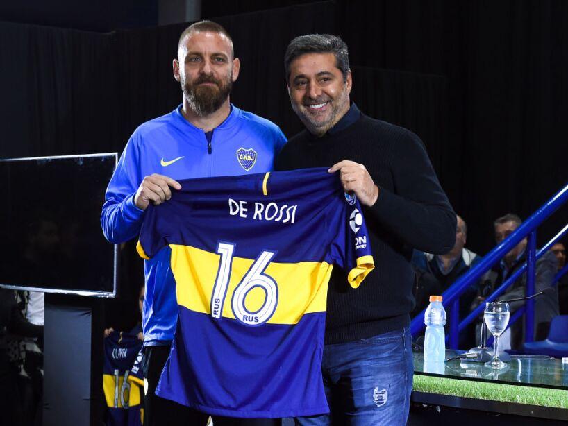 Boca Juniors Unveils New Signing Daniele De Rossi
