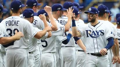 Los Tampa Bay Rays vencen 10-3 a Houston Astros; la serie está 1-2 para los de Houston.