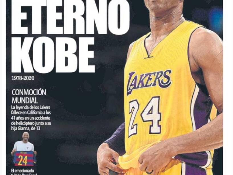 Kobe Bryant, periódico, MUNDO DEPORTIVO.jpg