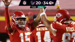 Resumen | Chiefs supera a Texans sin muchas dificultades