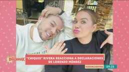 Chiquis Rivera responde en tono burlón a las declaraciones de Lorenzo Méndez