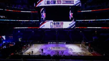 Así se vive la pasión del NBA All-Star Game muy colorido y con gente emocionada para disfrutar de este encuentro.