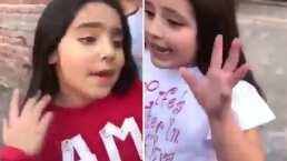 La épica batalla de rap de un par de niñas