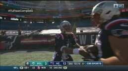Cam Newton consigue el segundo touchdown de la era post Brady