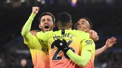 En un encuentro de ida y vuelta, los de Pep se llevaron la victoria por la mínima diferencia.  | Gabriel Jesus marcó el solitario gol de la victoria.