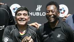 El mensaje de Pelé a Maradona que te hará llorar: 'Te amo, Diego'