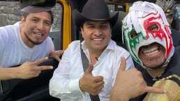 Video: Julión Álvarez encuentra a su gemelo perdido y juntos cantan 'Las Mulas de Moreno'
