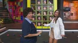 Doña Lucha juega a 'La chancla voladora' y te enseña su técnica
