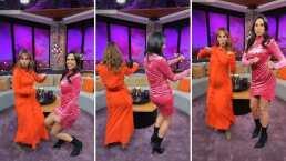 Natalia Téllez luce su pancita de embarazada bailando junto a Paola Rojas