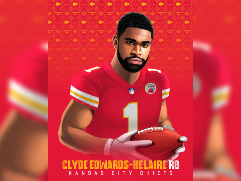 Clyde Edwards-Helaire, NFL Draft, 1.png