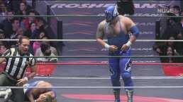 Blue Panther logra salir victorioso en una complicada noche