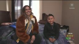 """Giovani le da un divertido recorrido a Galilea Montijo por su nueva casa: """"Gracias a los ángeles"""""""