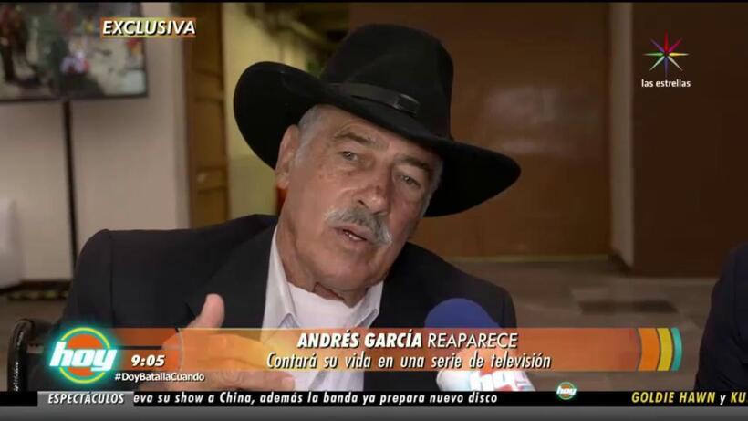 Andrés García revela que sus vecinos podrían ser los ladrones de su casa
