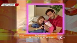 Pablo Montero feliz por el nacimiento de su segunda hija