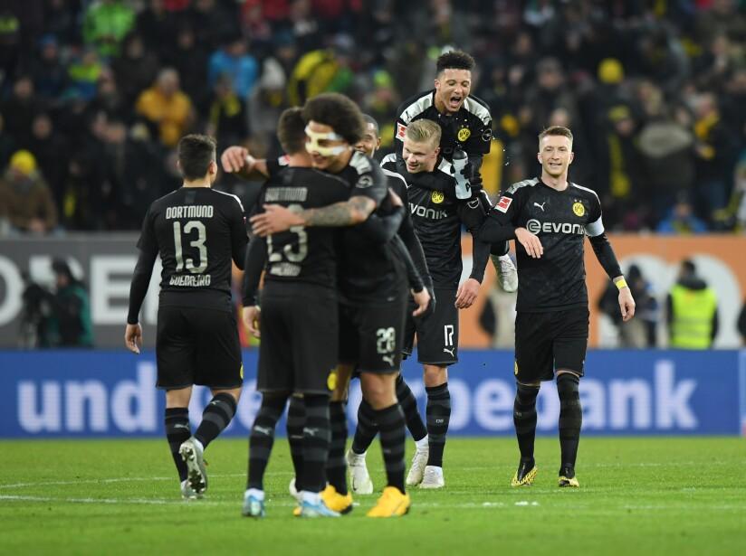 FC Augsburg v Borussia Dortmund - Bundesliga