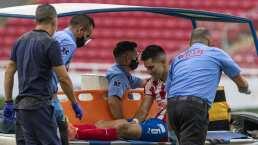 Chivas descarta lesión de ligamentos de Jesús Molina