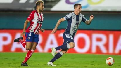 Atlético San Luis sufre en su visita a los Tuzos y con Hat Trick de Victor Dávila el Pachuca vence 3-1 a los potosinos.