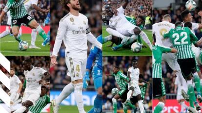 Real Madrid empata con el Real Betis y deja ir la oportunidad de ponerse como líder solitario de La Liga.