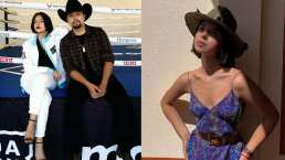 Ángela Aguilar sigue sorprendiendo con sus outfits, estos son los tres atuendos que usó para la pelea del Canelo