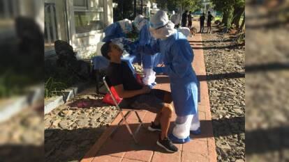 Realizaron pruebas para la detección del coronavirus a jugadores del primer equipo varonil, cuerpo técnico, staff y directiva.