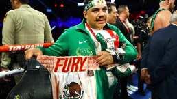 Jorge Capetillo habla del amor que Tyson Fury tiene por México
