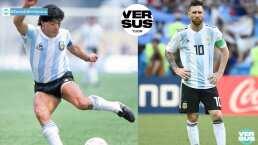 ¿Messi o Maradona? Javier Zanetti eligió al que querría para el Inter
