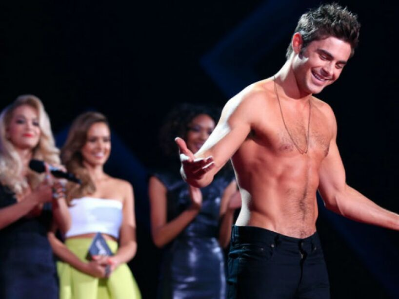 1. Zac Efron: Nos enamoró en Hairspray, 17 Again, Me and Orson Welles, Charlie St. Cloud y The Lucky One.