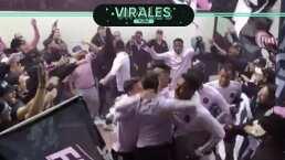 Jugadores y afición del Inter Miami cantan previo a su debut