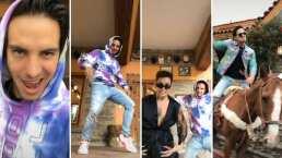 """""""Fúmate este baile nene"""": Acompañado de Kunno, Vadhir Derbez pide que ya le quiten el internet"""
