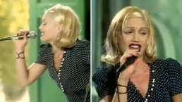 Se cumplen 25 años de 'Don't Speak' y Gwen Stefani lo celebra usando su icónico vestido de lunares blancos