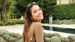 Además de inglés, Sharon Fonseca presume lo bien que habla el italiano