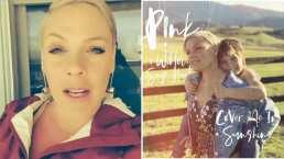 Como regalo de San Valentín, Pink anuncia el dueto de 'Cover Me In Sunshine' junto a su hija Willow