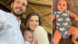 La hija de Camila Fernández ya baila y solo tiene tres meses de nacida