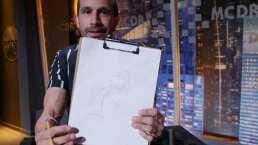 Me Caigo de Artista: Mira el dibujo que hizo Guana del Señor Justicia y otros personajes