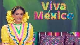 Galilea Montijo conquista con su look muy mexicano en Hoy: ¡Ya está lista para dar el Grito!