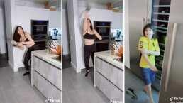 Ana Bárbara le lanza un tenis a Chema 'por malcriado'