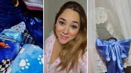 Video: Sherlyn muestra la recámara de su bebé en casa de sus abuelos