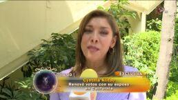 Cynthia Klitbo festejó su aniversario de matrimonio – Nov 01