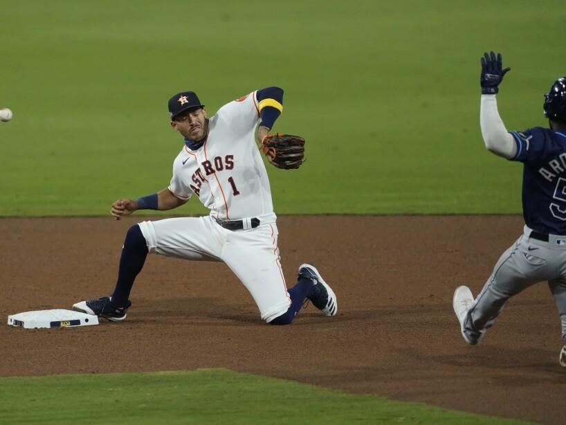 ALCS Rays Astros Baseball