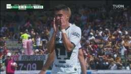 ¡Terrible cabezazo! Favio Álvarez se perdió el 1-0 ante Rayados