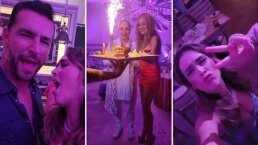 Jacky Bracamontes asistió al cumpleaños de Paulina Rubio y comparte lo mucho que se divirtió