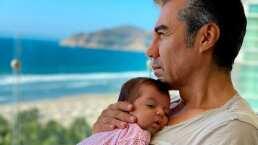 Adrián Uribe y Thuany Martins celebran con tierno video los cuatro meses de su bebé