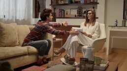 40 y 20: Fran intenta seducir a su psicóloga